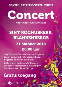 Joyful - Blankenberge - St Rochus' Church